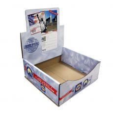 Napa cardboard counter display photo