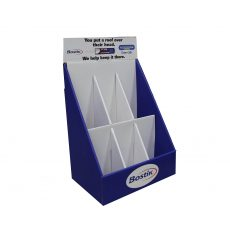 Bostik 6 section cardboard display photo