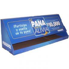 Panadol single tier point-of-purchase display photo