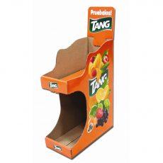 Tang 2 tier cardboard display photo