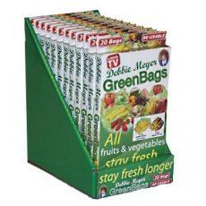 Green Bags single row countertop display photo