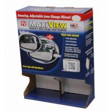 MaxiView cardboard display photo