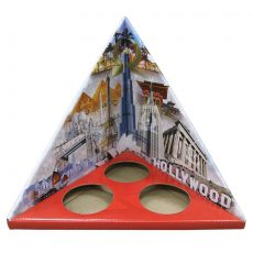 Pyramid pre-cut display photo